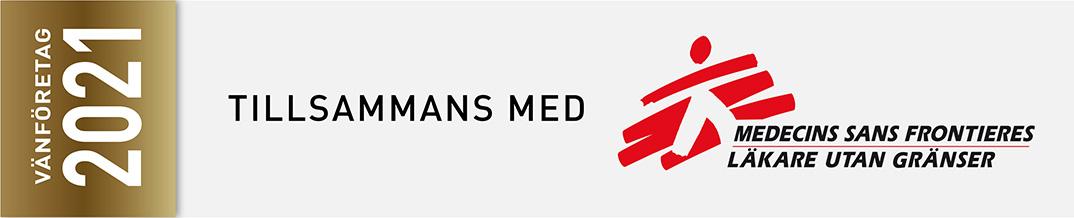 TUG är ett vänföretag till Läkare Utan Gränser